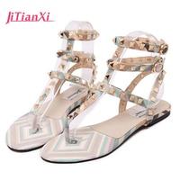Women Sandals Bohemia Women Casual Shoes Sexy Beach Summer Girls Flip Flops Gladiator Fashion Cute Women