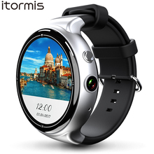 ITORMIS Android 5.1 Smart Watch Smartwatch Wristwatch MTK6580 16G ROM 8G RAM 3G SIM WiFi Sport Fitness 2MP Camera GPS Heart Rate