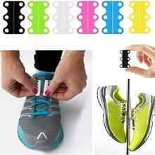 HOT! Creative Magnetic Casual Sneaker Shoe Buckles Closure No-Tie Shoelace Buckle