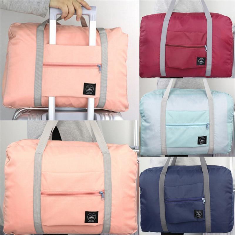 1PCS Multi-Color Foldable Waterproof Travel Bag Luggage Travel Large Capacity Bag Women Folding Handbags Luggage Bag