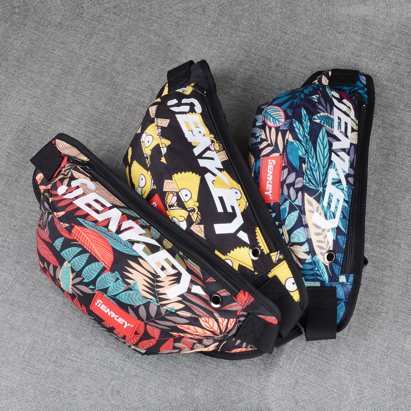 2020 New Oxford Cloth Utility Waist Pockets Fashion Waterproof Fanny Pack Bags Waist For Men Women Waist Packs Belt Bag 29 Color