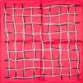Гарантия 100% Шелковый Шарф Площади Шарф Женщин Красный Плед Маленький площадь Шелковый Шарф 50 см 2017 Женский Бандана для Повелительницы Офиса подарок