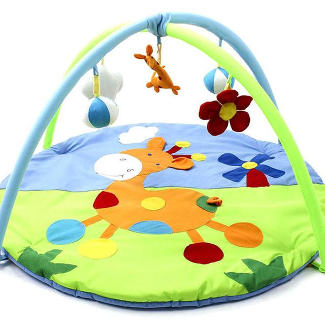 Tapete Esteira Do Jogo Do Bebê Recém-nascido Jogar Fun educacional Brinquedo Infantil Tapete Infantil Algodão Rastejando Esteira do Jogo Ginásio... DBYC160 PT49
