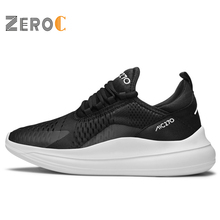 ZeroC Classic Black & White Chunky Sneakers in Mens Casual Shoes Platform Men Mesh Running 4 Colors