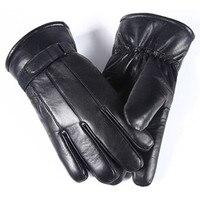 2017 Winter Best Seller Men S Sheepskin Gloves Leather Gloves Men S Winter Outdoor Warm Fur