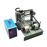 CNC router machine 2030 parallel port 4 axis mini wood lathe