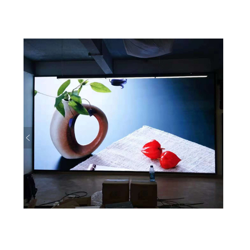 LED Screen Die Casting Aluminum Cabinet 500×500mm P4.81 Smd Indoor Full Color Advertising Rental Led Display Panel