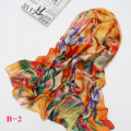 Big Size  High Quality Spring print Silk Scarf Women New Style Fashion Ladies Long Shawl