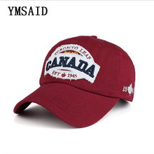 1a1f524075b 2019 New 100% Cotton Baseball Cap Men Snapback Caps Casquette Hats For Men  Women Hip Hop Bone Canada Gorras Fashion Brand Cap