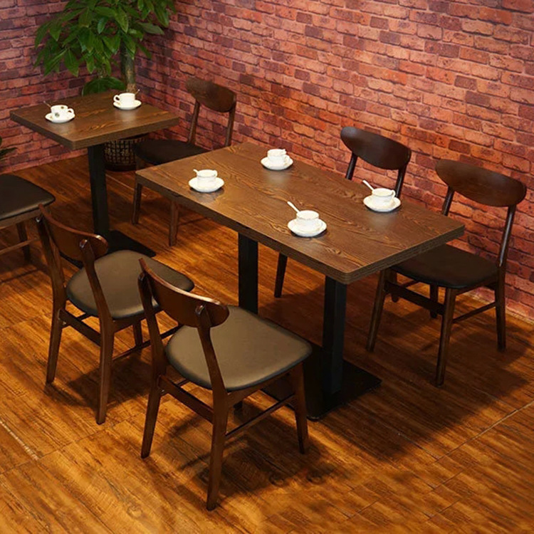 Coffee Shop Tables And Chairs american coffee shop restaurant retro wood dinette combination of