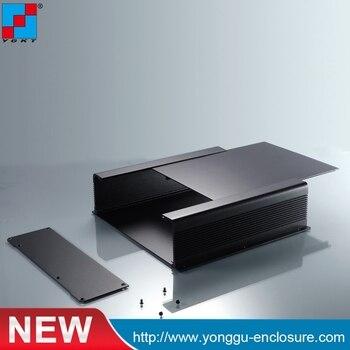 250*73.5*250mm (WxHxL) DIY circuit board aluminum housing Amp aluminum extrution  Industrial Control Equipment enclosure