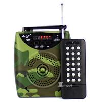 2200 mAh Camouflage Tragbare Digitale 500 mt Drahtlose Fernbedienung Jagd MP3 Spieler Vogel Anrufer Lautsprecher Vögel Klingen Videoanruf-gerät