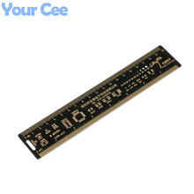 1pc 20cm Multifunctional PCB Ruler Measuring Tool Resistor Capacitor Chip IC SMD Diode Transistor Package Electronic Stocks