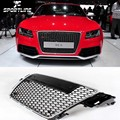 Carro-Styling A5 RS5 ABS Mel Frente Malha Grill Grille para Audi A5 S5 RS5 Sline 2009-2011