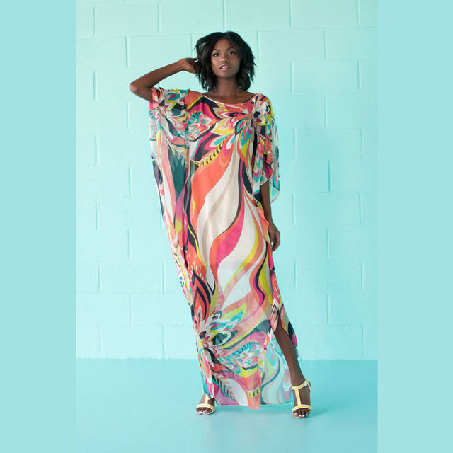 09bf31eb9b8 Plaj elbiseleri long sarongs pareo kaftans for the beach outings plus size  swimwear cover ups boho dress dashiki vestidos longo