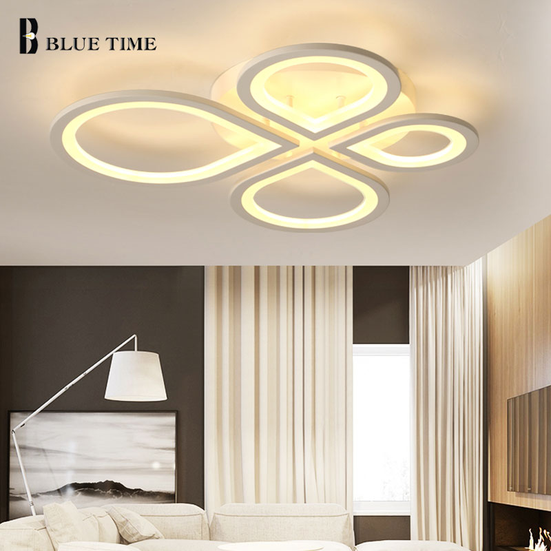 Acrylic thick Modern led ceiling lights for living room bedroom dining room home ceiling lamp light home lighting fixtures ceiling lighting minimalist modern balcony study bedroom lighting led intelligent atmospheric living room dining room