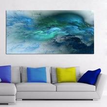 AAVV – peinture sur toile, couleurs abstraites, irréelles, Art mural, grand décor de maison, image moderne sans cadre