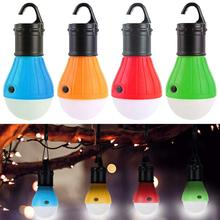 LED Camping Lantern Portable Outdoor Tent Light Bulb for Camping Hiking Fishing Hurricane Storm Outage-Battery Powered light new led flashlight lantern 2 in 1 portable small led lantern black blue red battery powered camping light flashlights for hiking