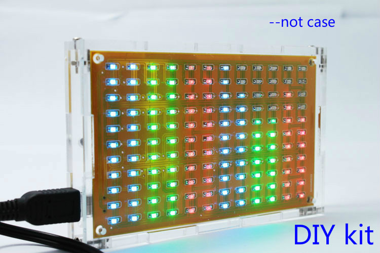 Led Bar Indicator Audio Spectrum Analyzer Circuit Led Spectrum