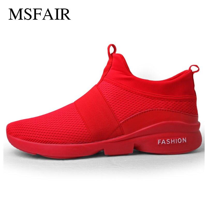 Msfair Для мужчин Кроссовки Лето Для женщин Обувь с дышащей сеткой противоскользящие и износостойкие Обувь для прогулок спортивная обувь для ...