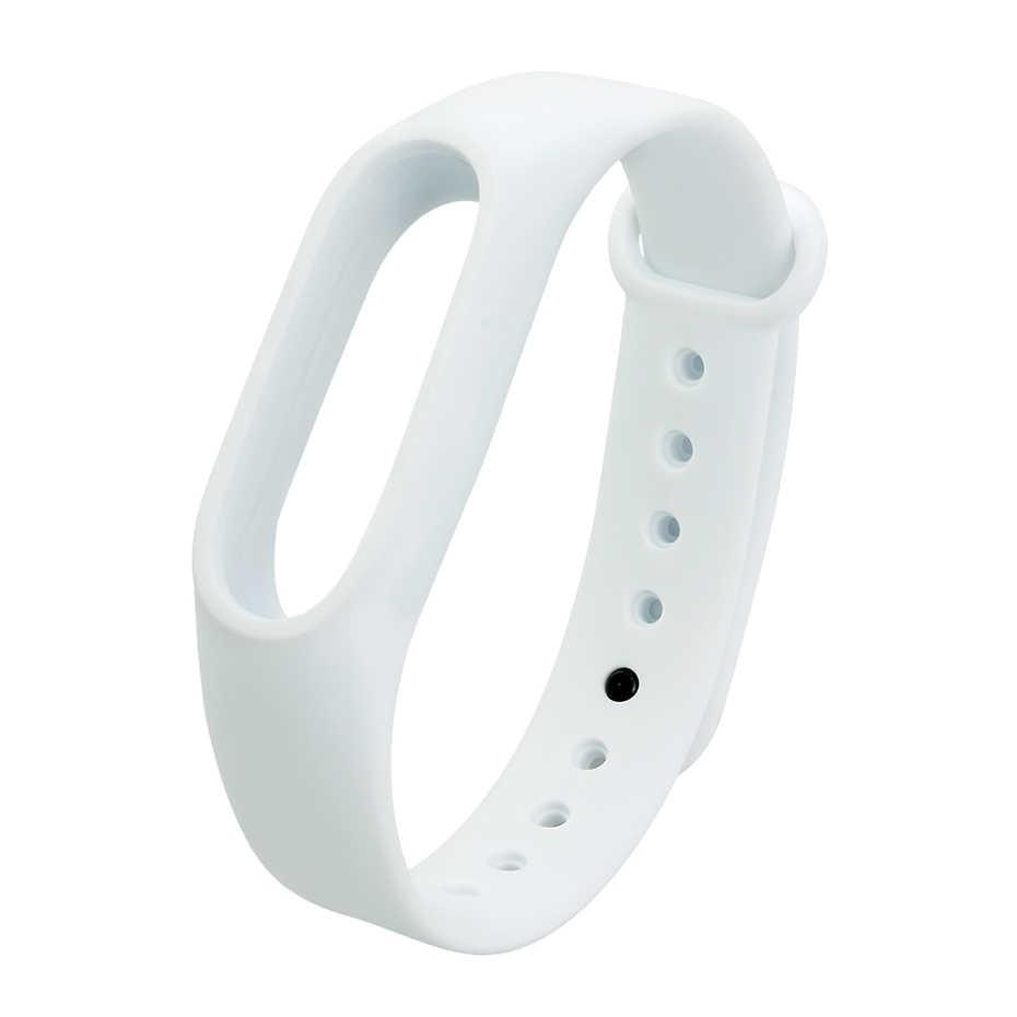 ColMi Silicone Wrist Bracelet Belt For Original Miband 2 Xiaomi Mi band 2 Strap Brim