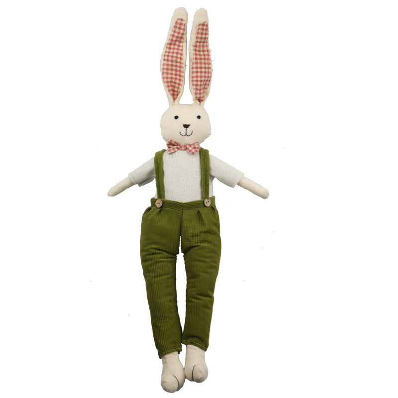 65cm Rabbit Easter Party Decoration Cute Easter Bunny Soft Plush Rabbit Stuffed Animal Toy Rabbit Toy plush rabbit toy little rabbit animal series many chew toy