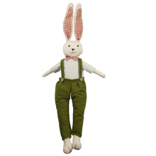 65cm Rabbit Easter Party Decoration Cute Easter Bunny Soft Plush Rabbit Stuffed Animal Toy Rabbit Toy Baby Animal Doll