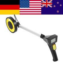 цена на Foldable Digital Distance Measuring Wheel Measure Road Land Builders Workers wheel meter sndway laser distance meter