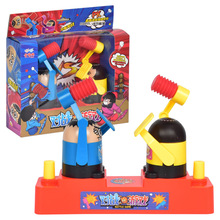 Hot Double Hammers Battle Game Toys Family interactive Desktop Games Stree Relief Toys Kids Boys and Girls Christmas Gifts shark bite game funny toys desktop fishing toys kids family interactive toys board game