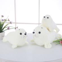 Купить с кэшбэком Decorative Pillows For Chairs White Bear Back Cushions For Sofa Children Girl Boys Kawaii Plush Small Toys Soft New Year'S Gifts