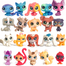 лучшая цена FGHGF LPS Pet shop Collection Figure Collie Dog Cat Bird Ribbat Animals Loose Cute Kid Toys Figure Gift 051701