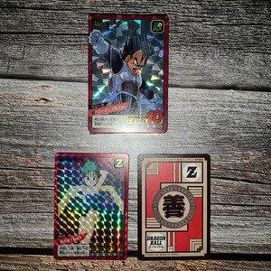 Image 2 - Límite Dragon Ball Super Ultra Instinct Goku Jiren acción juguete figuras conmemorativas tarjeta Flash tarjetas de colección