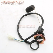 Scooter Fuel Level Sensor Gasoline Tank Sensor Oil Float Fuel Gauge Chinese Motorcycle for GY6 50cc