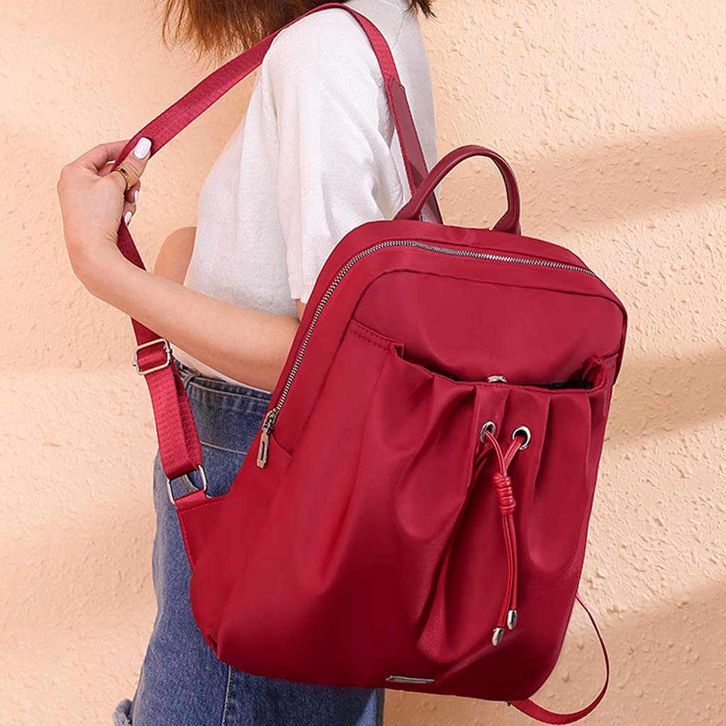 Водонепроницаемая повседневная женская сумка-рюкзак Противоугонный Женский Рюкзак Легкая школьная сумка на плечо для девочек-подростков