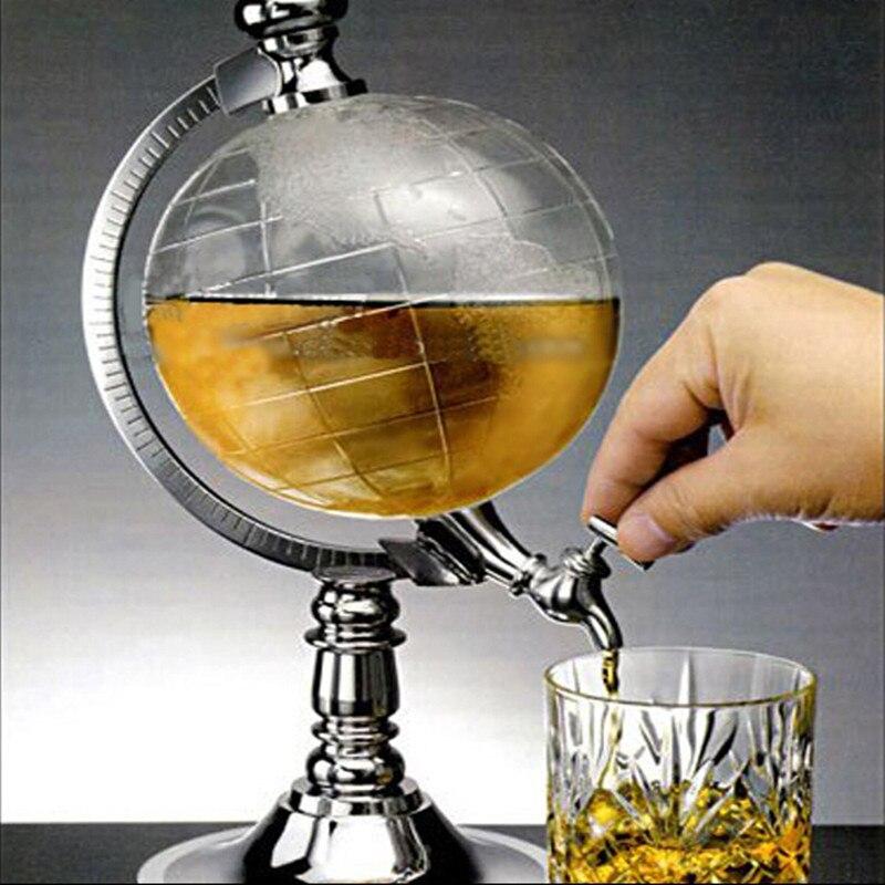 Offre spéciale 3 pièces DE barre de KTV décoration Créative mini globe distributeur d'eau/machine à boisson personnalité machine à bière