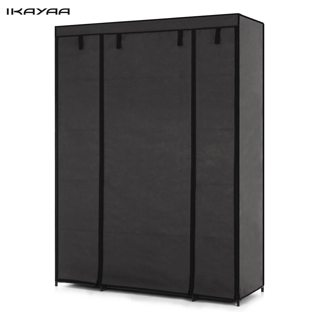 iKayaa FR Stock Cloth Wardrobe Storage Closet Wardrobe