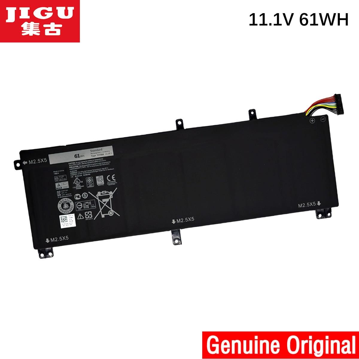 JIGU H76MV OH76MV T0TRM TOTRM Y758W Original Laptop Battery For DELL Precision M3800 XPS 15 9530 laptop parts for dell precision m3800 xps 15 9530 l522x dg95v hdd caddy bracket with sata connector cable