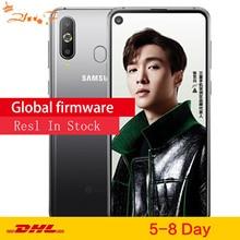 Смартфон samsung Galaxy A8s G8870 три задние камеры 3400 мАч 6 ГБ 128 ГБ Snapdragon 710 Otca core NFC Android мобильный телефон
