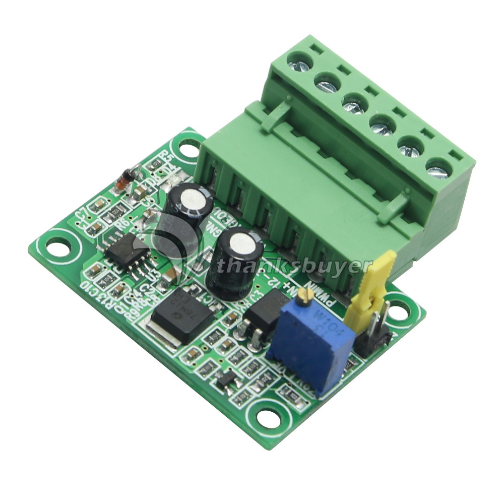 1 3KHZ to 0 10V PWM Signal to Voltage Converter Digital Analog PLC