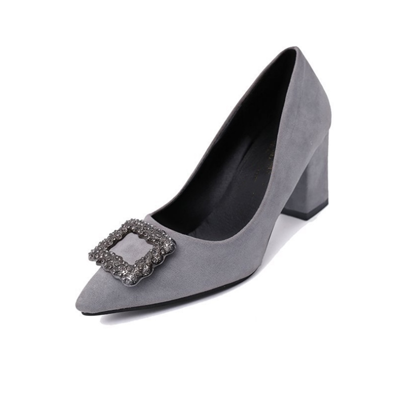Ho Heave Women Comfortable Sexy Pumps Hight Quality Fashion Pointed Toe Shoes Spring Autumn Outside Casual Square Heel ShoesHo Heave Women Comfortable Sexy Pumps Hight Quality Fashion Pointed Toe Shoes Spring Autumn Outside Casual Square Heel Shoes