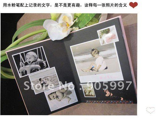 Favori DIY Paste Album/ yearbook couple / family / friends fashion  VQ28