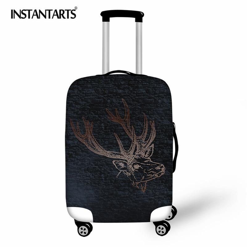 INSTANTARTS 2018 Elastic Fabric Luggage Cover
