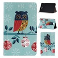 High Quality Print Stand PU Leather Sleeve Cover Protective Case For Samsung Galaxy Tab A 10.1 T580N Tablet PC