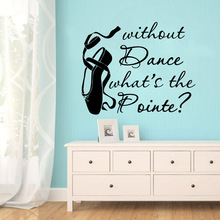 Amusing dance shoe Wall Sticker Pvc Stickers Art Paper For Home Decor Living Room Bedroom Removable Mural