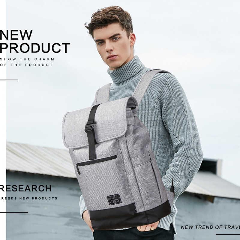 Мужские и женские водонепроницаемые изоляционные холщовые Рюкзаки большой емкости школьные сумки для ноутбука для подростков Дорожная сумка на плечо