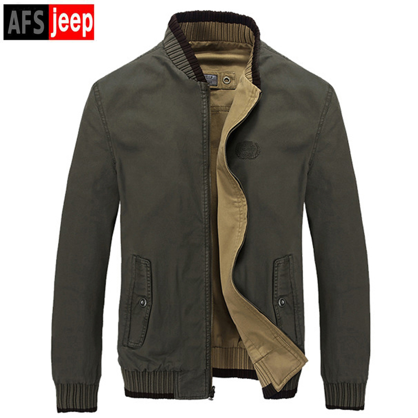 Brand Men 2017 Spring & Autumn Fashion Thick Sleeve Jacket Top Quality Double-Sided Jacket Men's Casual Coat Plus Size M-3XL HOT