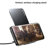 Baseus QI Fast Wireless Charger For Iphone X Samaung S8 Note 8 S7 S6 Edge All