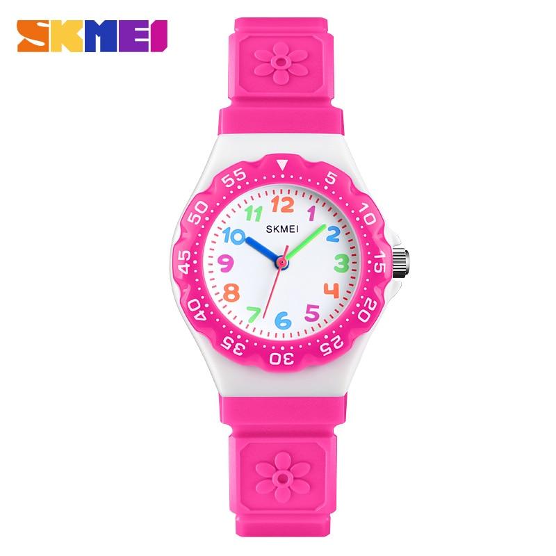 SKMEI Children Quartz Watch Top Luxury Brand Watches 2018 Fashion Casual Sport Watch Waterproof Clock Wristwatch Montre Enfant