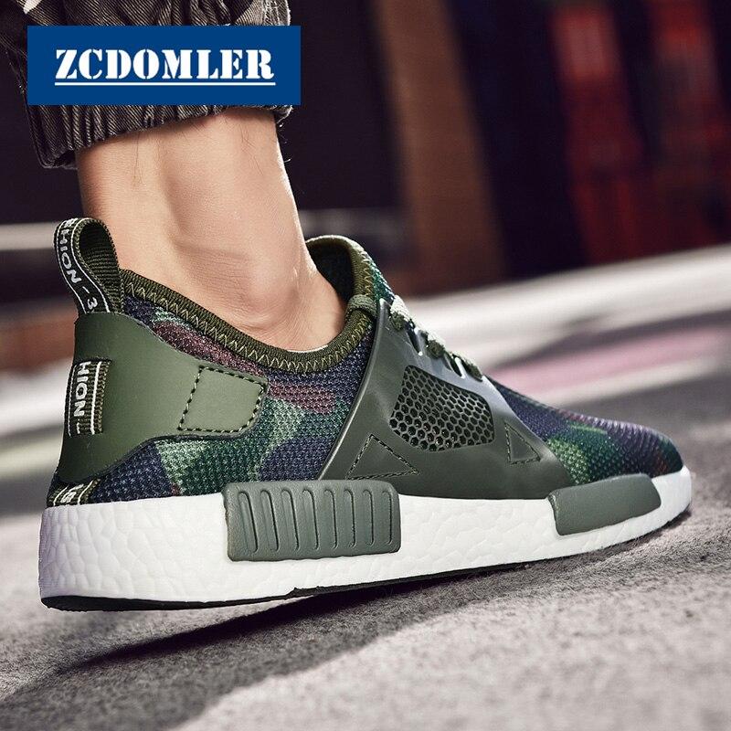 2e6ae839 ZCDOMLER 2019 высококачественные легкие кроссовки мужские камуфляжные  повседневные туфли дышащие спортивные мужские штаны обувь на шнуровке