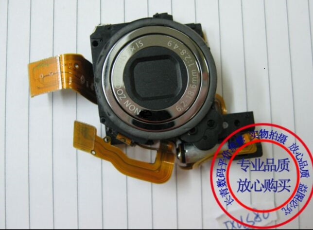 90%new Lens ccd Accessories For Canon Ixus80 Sd1100 Is;ixy20s;pc1271;ixus 80 Is Camera silver